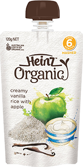 Heinz Creamy Vanilla Rice with Apple