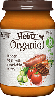 Heinz Tender Beef with Vegetable Mash