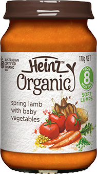 Heinz Spring Lamb with Baby Vegetables