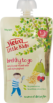 Little Kids Berry & Pear Muesli with Greek Style Yoghurt