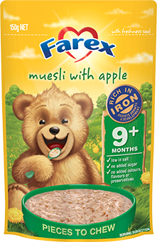 Farex Muesli with Apple