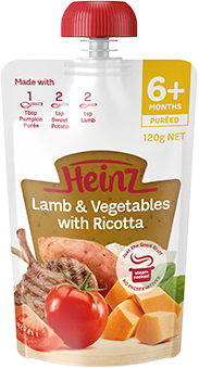 Heinz Lamb & Vegetables with Ricotta
