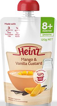 Heinz Mango & Vanilla Flavoured Custard