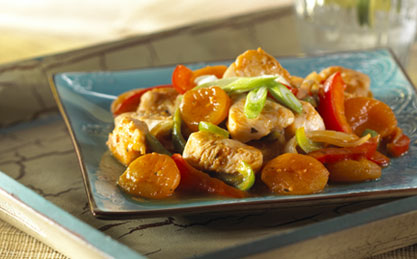 Apricot Chicken Curry image