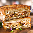 Moroccan Chicken Grilled Cheese