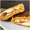 Spicy Bacon Grilled Cheese