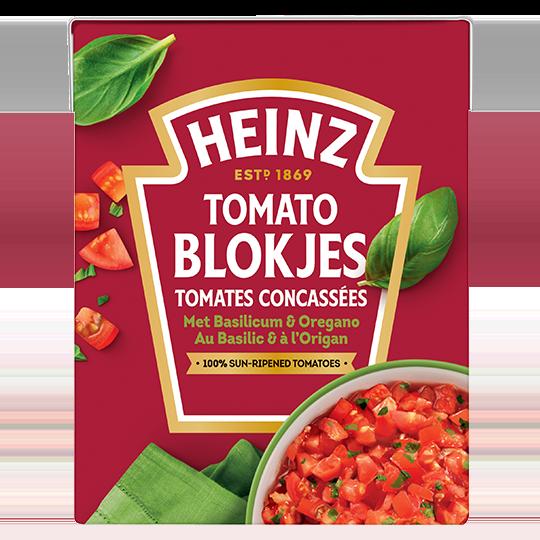 Tomato Blokjes met Basilicum & Oregano
