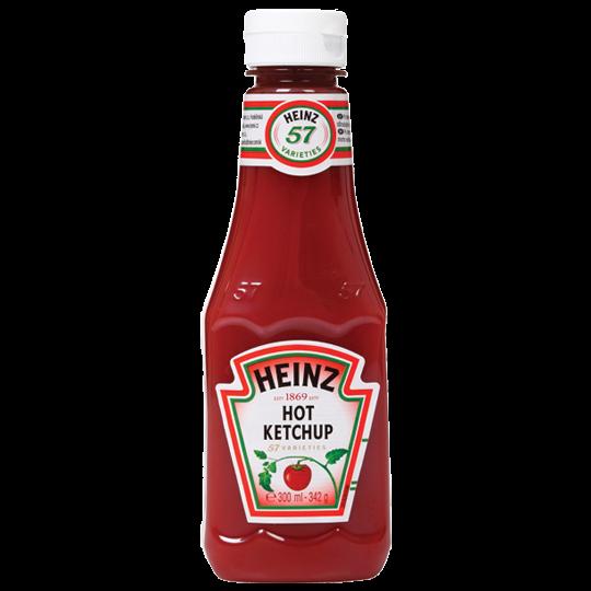 Rajčatový kečup ostrý
