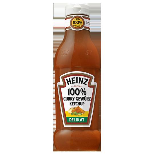 Curry Gewürz Ketchup Delikat