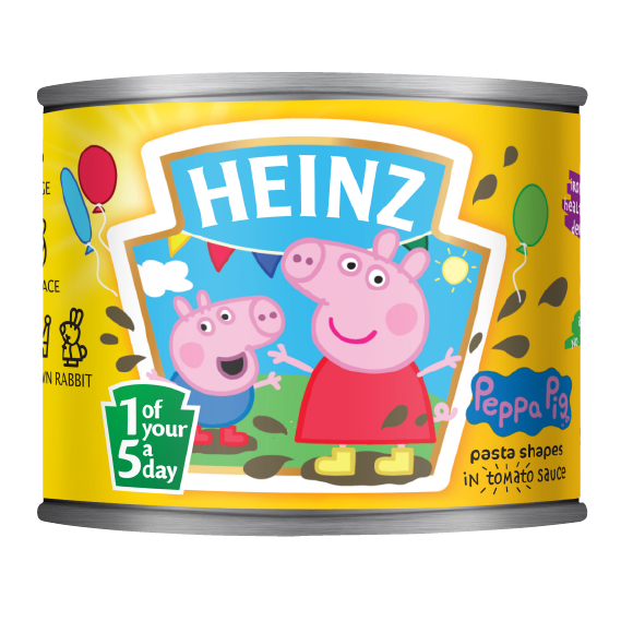 Peppa Pig Pasta Shapes