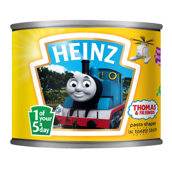 Thomas and Friends Pasta Shapes