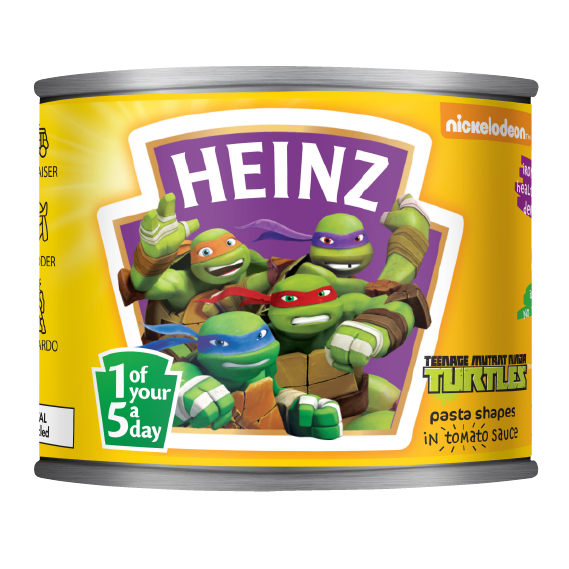 Teenage Mutant Ninja Turtles Pasta Shapes