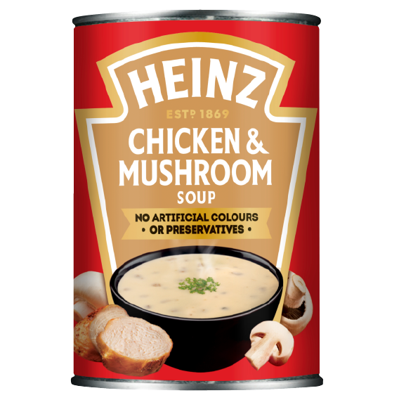 Cream of Chicken & Mushroom