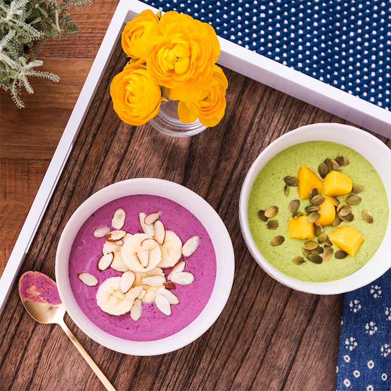 Almond and Mixed Berry Smoothie Bowl Image