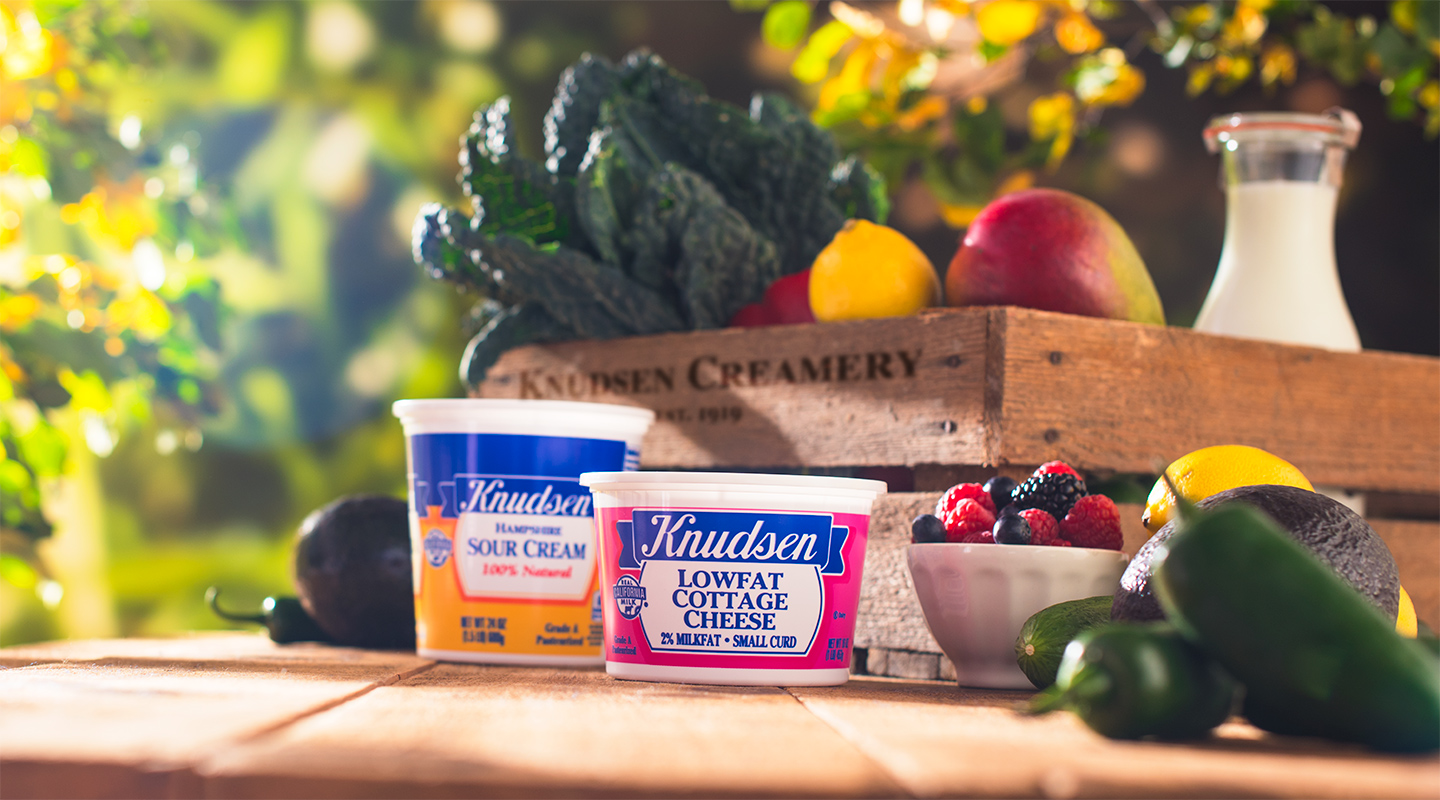In 1919, Tom and Carl Knudsen started their California creamery with one simple goal: make the best dairy products by using the freshest, most wholesome ingredients. Banner Image
