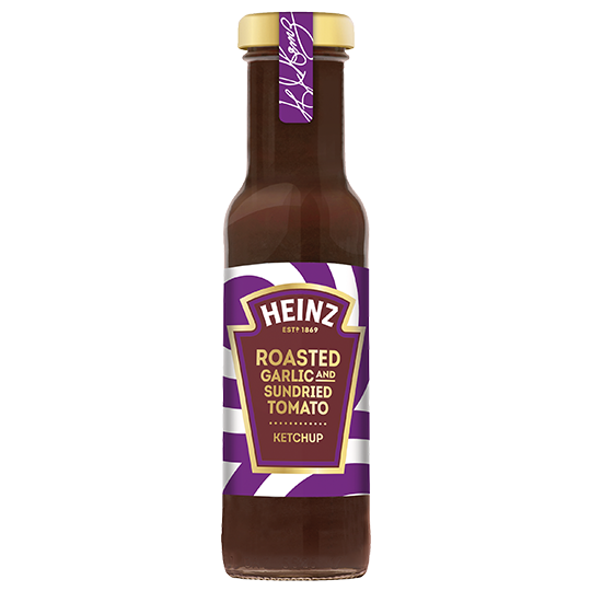 Roasted Garlic & Sundried Tomato Ketchup