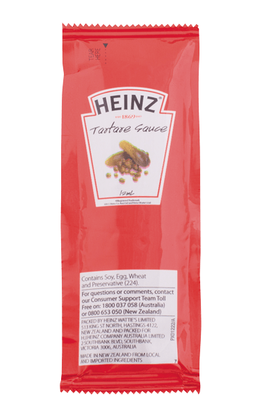 Heinz Tartare Sauce Portion 12mL image