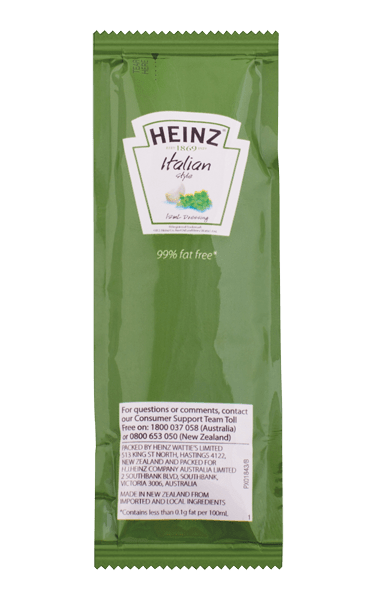 Heinz Italian Dressing Portion
