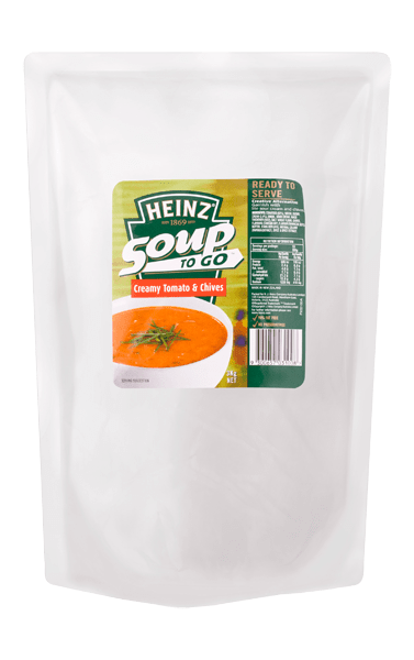 Heinz Soup To Go Creamy Tomato & Chive Soup 3kg