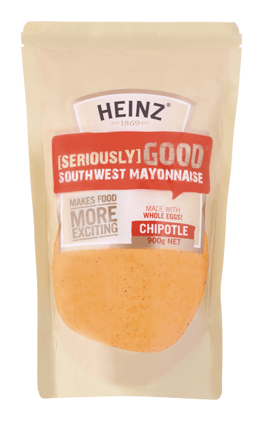 Heinz Seriously Good Southwest Chipotle Mayonnaise 900g image