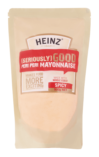 Heinz Seriously Good Peri Peri Mayonnaise 900g image
