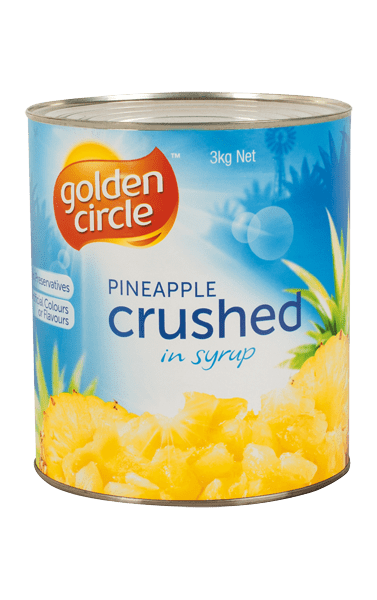 Golden Circle Crushed Pineapple in Syrup A10/3kg