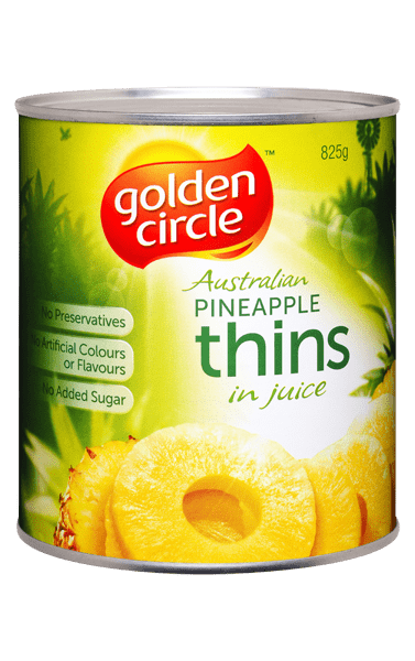Golden Circle Pineapple Thins in Juice 825g image