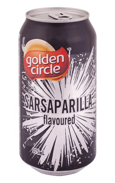Golden Circle Sarsaparilla Soft Drink 375mL