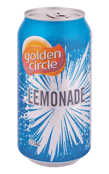 Golden Circle Lemonade Soft Drink 375mL