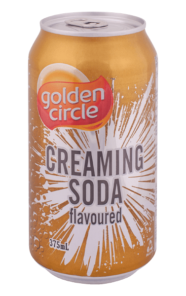 Golden Circle Creaming Soda Soft Drink 375mL