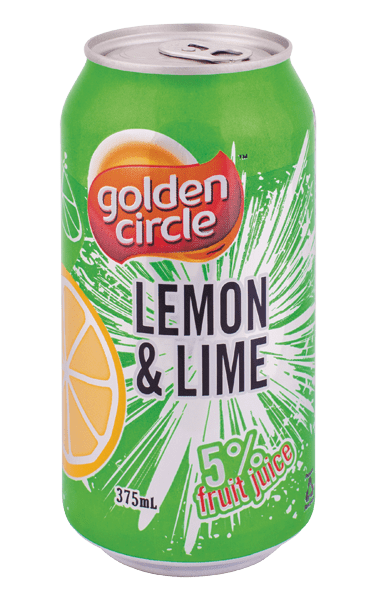 Golden Circle Lemon Lime Soft Drink 375mL