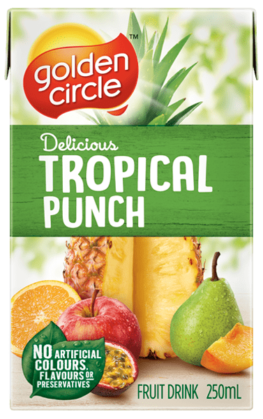Golden Circle Tropical Punch Fruit Drink