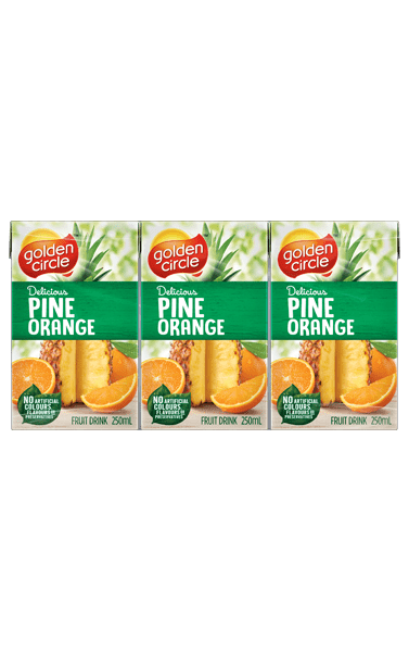 Golden Circle Pine Orange Fruit Drink 250mL