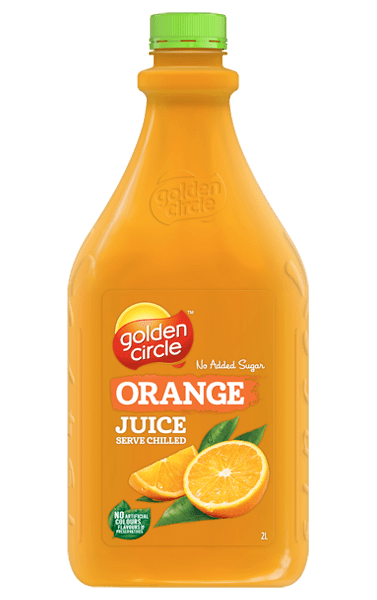 Golden Circle Orange Juice 2L
