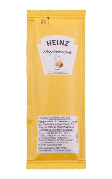 Heinz Mayonnaise Portion 12mL image