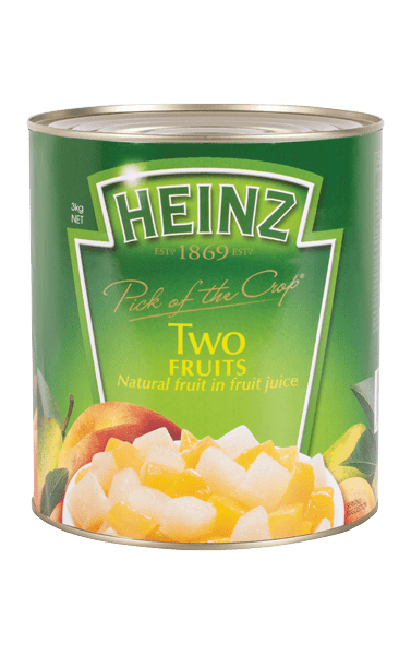 Heinz Two Fruits in Juice 3kg