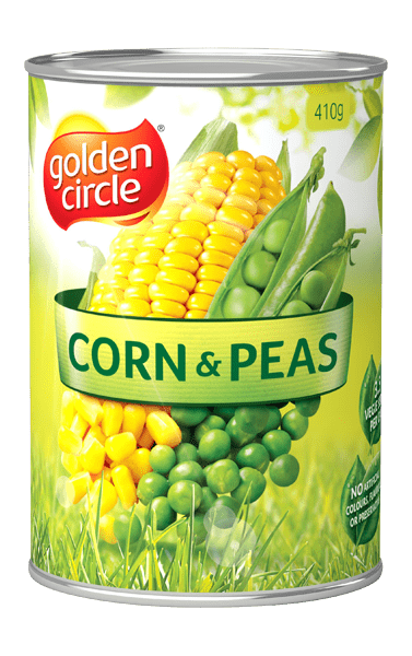 Golden Circle Corn & Peas 410g