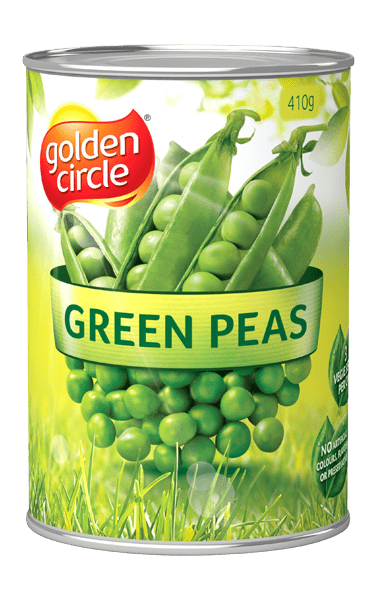 Golden Circle Green Peas 410g