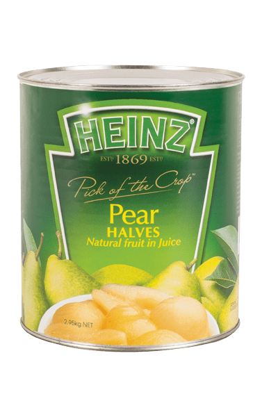 Heinz Pear Halves in Juice 2.95kg