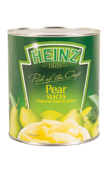 Heinz Pear Slices in Juice