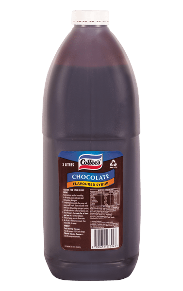 Cottee's Chocolate Topping 3L