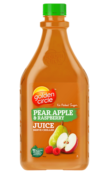 Golden Circle Pear Apple Raspberry Juice 2L