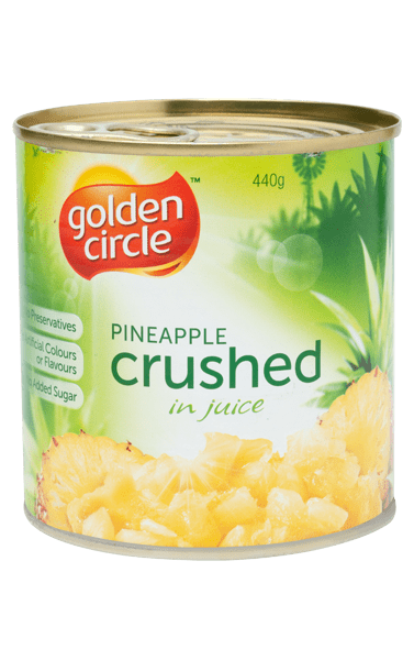 Golden Circle Crushed Pineapple in Juice 440g image
