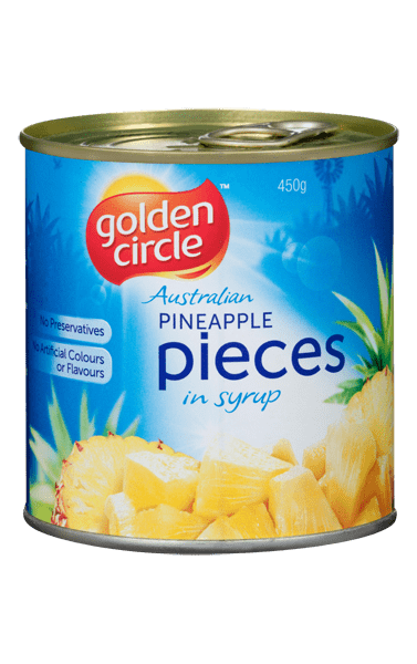 Golden Circle Pineapple Pieces in Syrup 450g image