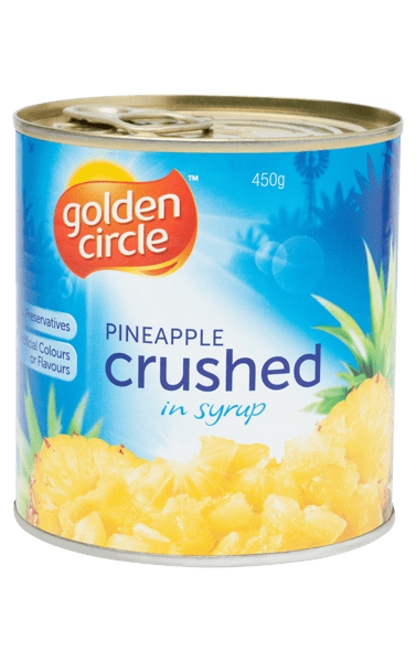 Golden Circle Crushed Pineapple in Syrup 450g image
