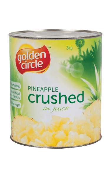 Golden Circle Crushed Pineapple in Juice A10/3kg