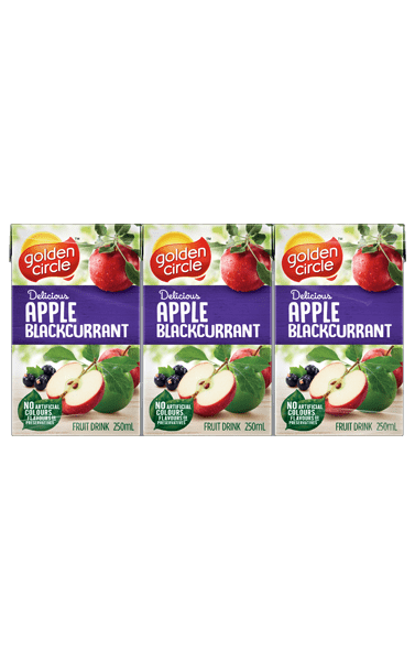 Golden Circle Apple Blackcurrant Fruit Drink 250mL image