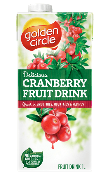 Golden Circle Cranberry Fruit Drink 1L