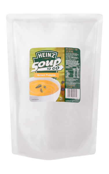 Heinz Soup To Go Harvest Pumpkin Soup 3kg