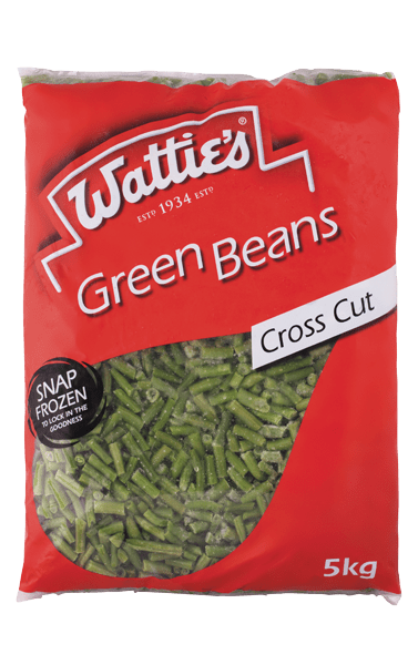 Wattie's Cross Cut Green Beans 2kg